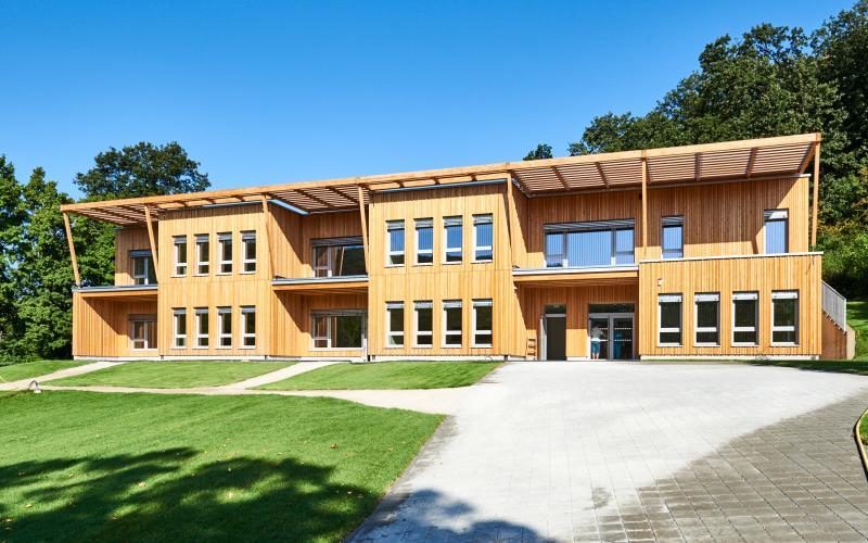 Radel Hahn Klimatechnik Kindergarten Poetzleinsdorf Foto Erich Reismann_Copyright Handler Bau GmbH