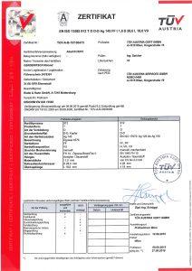 Radel Hahn Soldering Certificat 2018